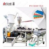 Estirador plástico automático del azulejo de azotea que hace la máquina