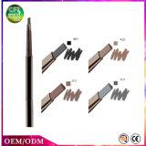 Los colores de la oferta especial 4 impermeabilizan el lápiz de ceja del maquillaje con el cepillo