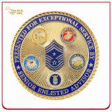 3D pour la protection de l'Armée personnalisé Coin souvenir