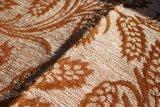 코팅 (FTH31193)를 가진 베이지색 꽃 셔닐 실