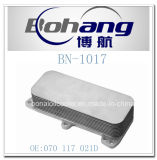 Refrigerador de petróleo del transportador de VW de los recambios de Bonai/radiador autos (070 117 021D)