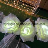 24V屋外の太陽花ライトクリスマスの照明の人工花