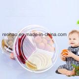 Изготовления Китай контейнера еды PP индикации супермаркета Carrefour&Walmart пластичные