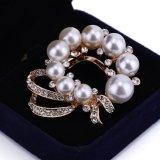 Querbinder-Perlen-Schal-Faltenbildung