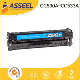 2017 Nuevo Compatible con el cartucho de tóner de color CC530A UNA SERIE DE HP