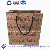 2016 Рождество роскошь бумажный мешок для покупок