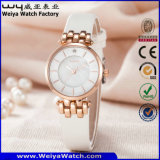 Reloj de la mujer del cuarzo de OEM/ODM (Wy-121C)