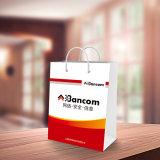 Sacs de cadeau de papier d'art, impression de sacs en papier de qualité et emballage