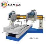 Máquina de corte de pedra automática para a laje de coluna