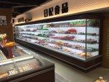 商業スーパーマーケットOEMの野菜表示開いた前部クーラー