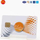Tamanho em branco plástico Cr80 do cartão do smart card CI do contato do PVC