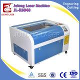 Grabado de escritorio del laser del grabador de la máquina de grabado del laser del CO2 60W con drenaje del laser