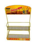 Las bebidas/supermercado del metal de la tienda al por menor de la encimera embotellan el estante del soporte de visualización