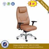 現代旋回装置の革オフィス・コンピュータの椅子(HX-AC005B)
