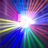 [15ر] [330و] مرحلة ديسكو حزمة موجية قطاع جانبيّ متحرّك رئيسيّة خفيفة