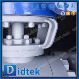 El metal de Didtek asentó las vávulas de bola montadas muñón lateral de la entrada A105