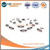 Tcgt1102 Inserciones de carburo de tungsteno para corte de aluminio