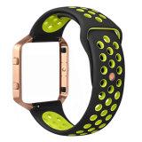 금속 프레임을%s 가진 Fitbit 불길 시계 줄을%s 실리콘고무 시계 결박