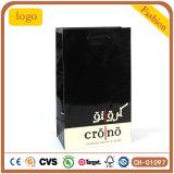Ver bolso negro, bolsa de papel de regalo, ver la bolsa de papel