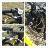 '' bici grassa 500W 48V della montagna elettrica poco costosa di Snowmobile dell'affissione a cristalli liquidi 26