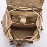 Kundenspezifische Segeltuch-Großhandelsfreizeit-haltbarer reisender Rucksack