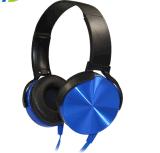 이동 전화를 위한 마이크를 가진 타전된 헤드폰을 취소하는 귀 소음에 고품질