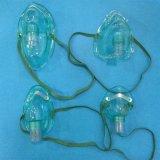 Nebulizzatore poco costoso a gettare di corrente d'aria di alta qualità forte con la mascherina dell'aerosol (verde/trasparente, tutti i tipi)