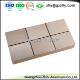 Espulsione di alluminio anodizzata fabbrica della Cina per il radiatore dell'audio dell'automobile