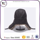 왁스 직물 가짜 모피 덫을 놓는 사람 모자