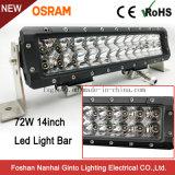 유일한 방수 72W 14inch Offroad LED 표시등 막대 (GT3106-72W)