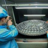 1.56 Obiettivo ottico grigio fotocromico di Hmc della parte superiore rotonda