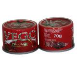 La saine Organic 830g la pâte de tomate en conserve de haute qualité en provenance de Chine