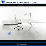 Scrittorio acrilico della scrivania della Tabella registrabile dell'ufficio/calcolatore di alta qualità