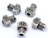 Rune de van uitstekende kwaliteit van Viking van het Gewicht parelt Hamer voor de Parels van het Haar van de Baard DIY