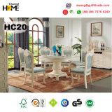 De Europese Houten Eettafel van de Stijl met Marmer (HC20)