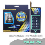 Lampadina luminosa eccellente del faro della lega di alluminio di aeronautica H4 H11 H13 H7 LED
