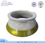 Peças elevadas do triturador do cone de Metso HP200 do aço de manganês
