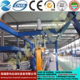 Machine à cintrer de plaque de quatre rouleaux pour la chaîne de production de tour de vent