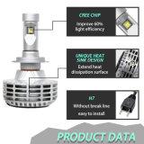 航空アルミ合金極度の明るいH4 H11 H13 H7 LEDのヘッドライトの球根