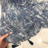 Sombra Lenços de algodão e linho Dual-Use Ar Condicionado protectores solares Xale toalha de praia grande cachecol
