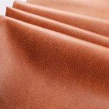 Velluto stampato schiuma 2018 di falsificazione del tessuto del Brown con il cappotto (YN005)