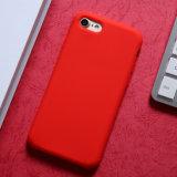Para iPhone X em Silicone, tampa de silicone líquido, gel de silicone à prova de borracha com forro de Tecido de microfibras