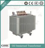 Perda de alta qualidade 10/0.4kv 3trifásico, imersos em óleo do tipo de óleo de transformadores de potência