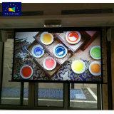 Ce-EMC КРАСНЫЙ LVD патенты на экране проектора под действием электропривода