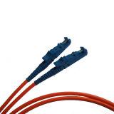 FTTH Puente E2000 Sm dúplex de fibra óptica Patch Cord