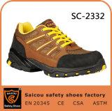 Saicou Turnschuh-Sicherheits-Schuh-lädt Plastikzehe-Sicherheit im Freiensicherheits-Schuhe Sc-2332 auf