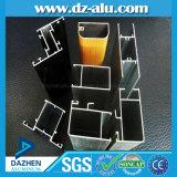 Aluminiumprofil des populären Entwurfs-6063 T5 für Fenster-Tür anodisiertes hölzernes Korn