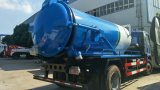 Aspirazione delle acque luride M3 di Sinotruk HOWO 4*2 12 e camion di trivellazione a getto