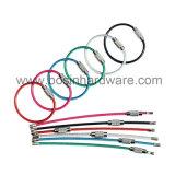 2mm Stärken-Edelstahl-Kabel-Schlüsselring