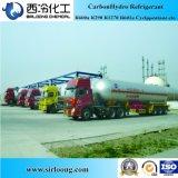 Refrigerant da pureza 99.9% R600A do Isobutane da energia hidráulica do carbono